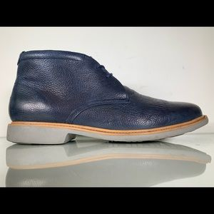 Cole Haan Great Jones Pebbled Leather Chukka Boots